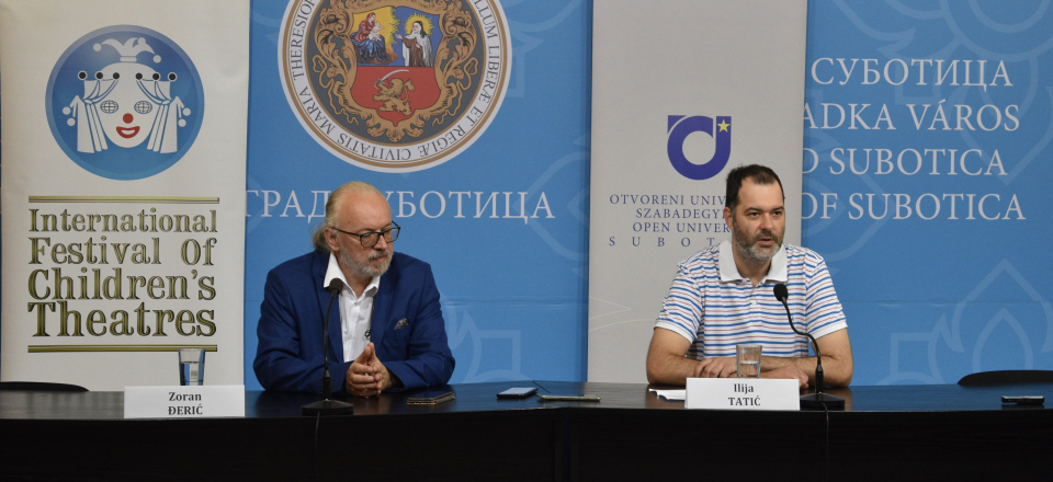 Zoran Đerić: Children's theaters no longer deal only with fairy tales, but also with current everyday topics