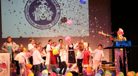 The 27th International Children's Theater Festival in Subotica officially opened