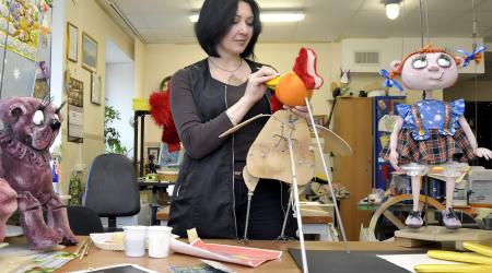 Exhibition dedicated to Ludmila Konstantinova Hense the Little Prince Award Laureate