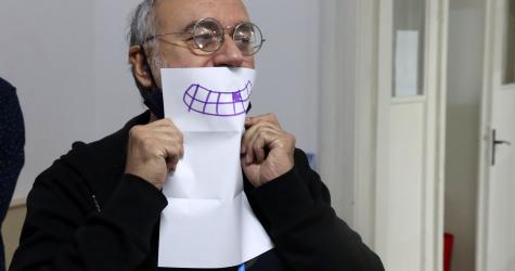 Razne maske za pozorišne daske - radionica